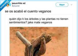 Enlace a Árboles 1 - Veganos 0, por @yisucrist
