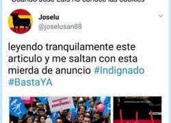 Enlace a José Luis el españolista indignado que cae en la trampa de las cookies, por @SrHadouken