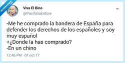 Enlace a Español y mucho español, por @PacifistaEnfure
