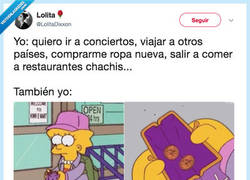 Enlace a Lo malo de ser pobre, por @lolitadixxon