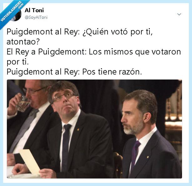 cataluña,democracia,el rey,españa,Puigdemont
