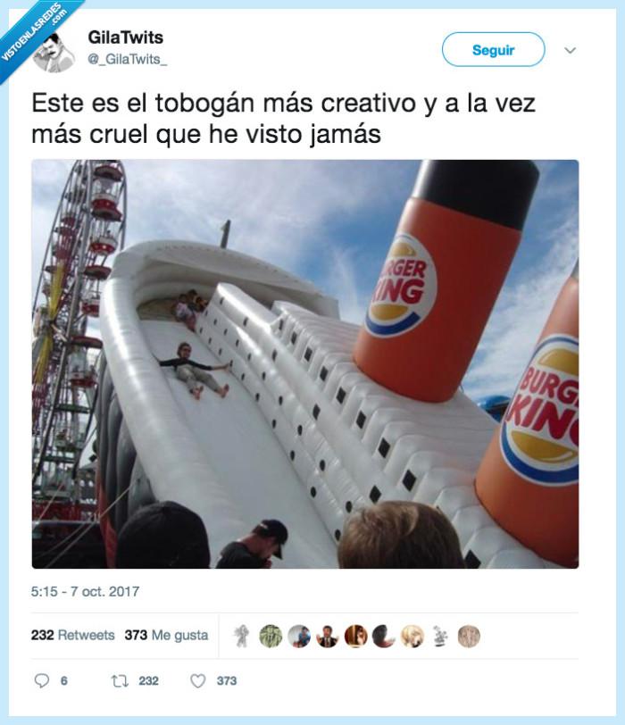 genial,titanic,tobogan
