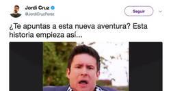 Enlace a Jordi Cruz revoluciona la red con un anuncio que nos hará volver a nuestra infancia a todos