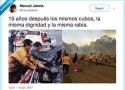 Enlace a ¡Galicia no arde, LA QUEMAN! NUNCA MAIS, por @manueljabois