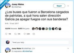 Enlace a La discusión de estos dos tuiteros sobre Galicia y Catalunya que nos ha hecho reflexionar