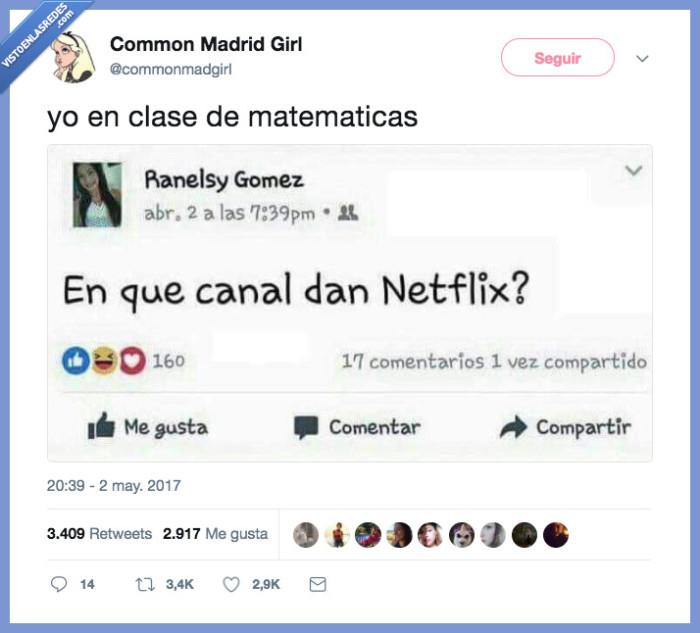 canal,clase,matemáticas,netfliz
