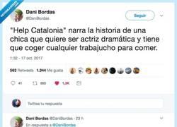 Enlace a La verdad que hay detrás del absurdo vídeo del Help Cataluña, por @DaniBordas