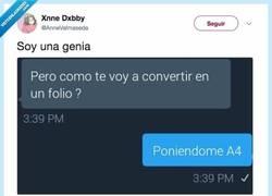 Enlace a Esta genia tiene la respuesta genial para ligar por redes sociales, por @AnneValmaseda