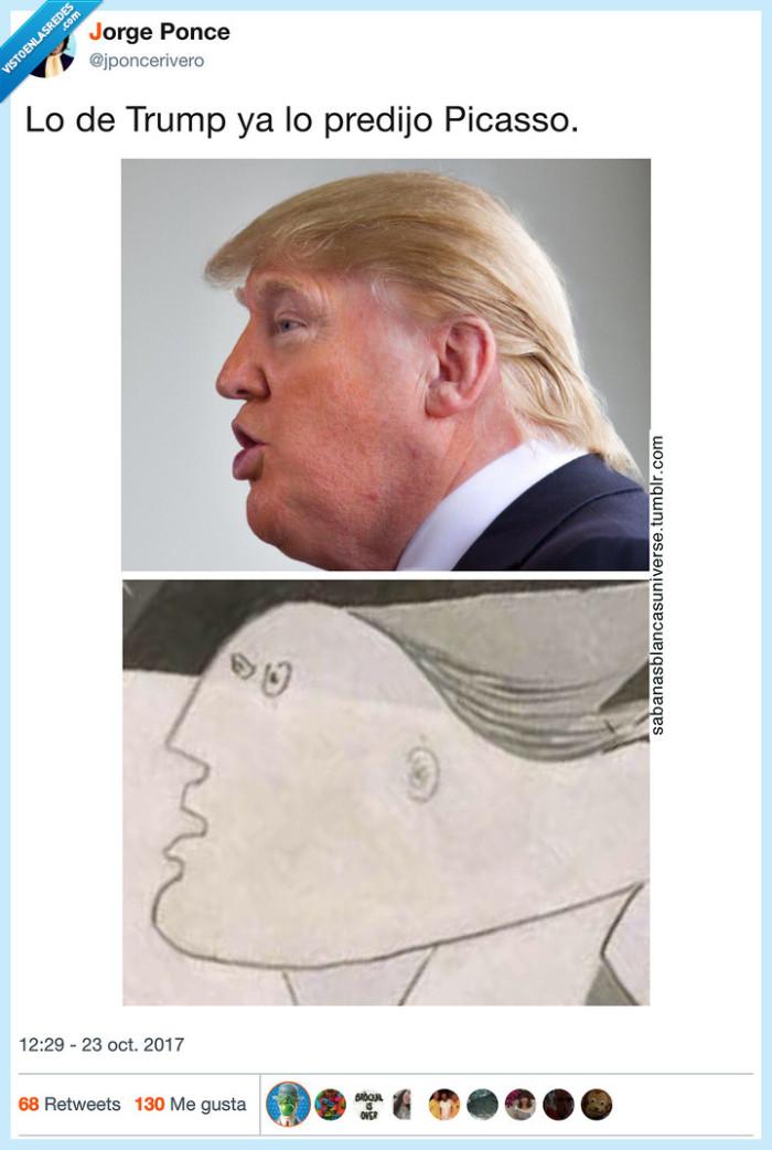 picasso,predecir,trump