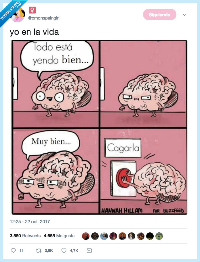 cagar,cerebro,siempre