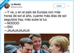 Enlace a Somos el chiste favorito de Europa, por @GobernoAlem