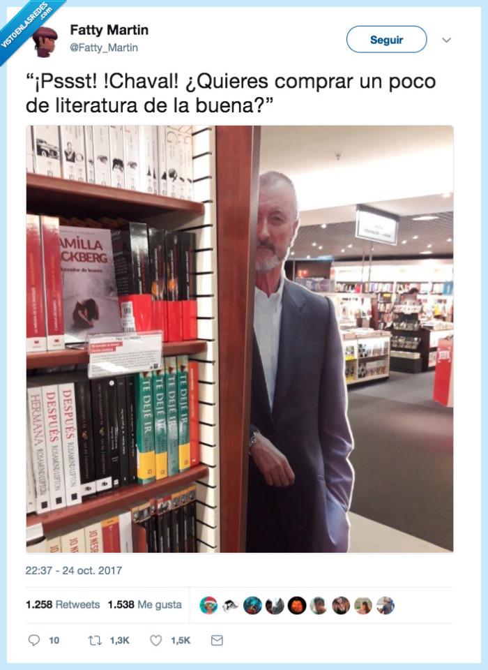 Arturo Pérez-Reverte,buena,dealer,literatura