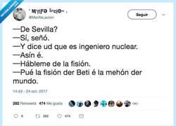 Enlace a Sevilla tiene una fisión especial, por @MarifeLaccion