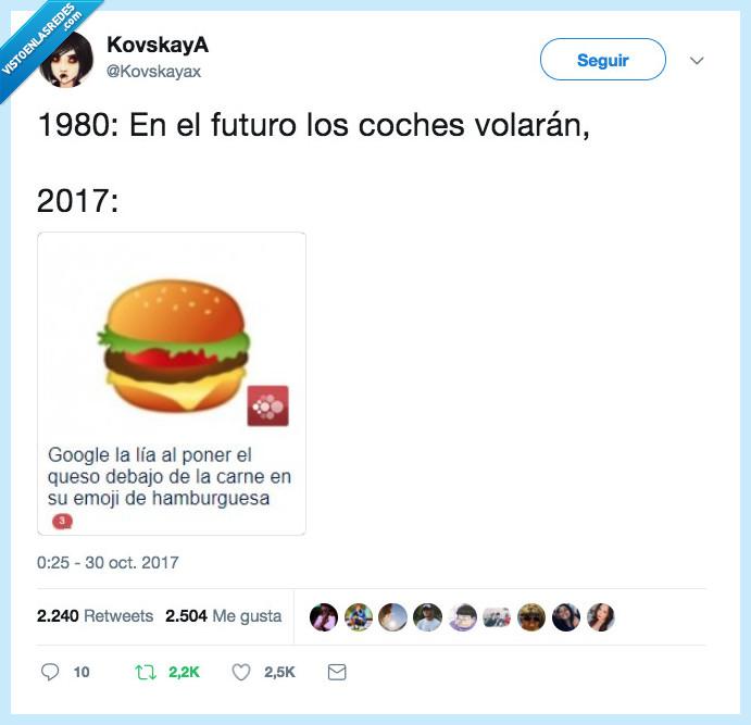 2017,hamburguesas,tontería,volar
