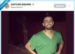 Enlace a No podemos parar de reír con este pedazo disfraz de Peter Pan, por @capturebizarre
