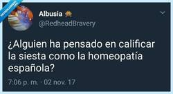 Enlace a No hay nada más español que la siesta