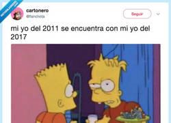 Enlace a No me quiero imaginar 2018, por @flanchota
