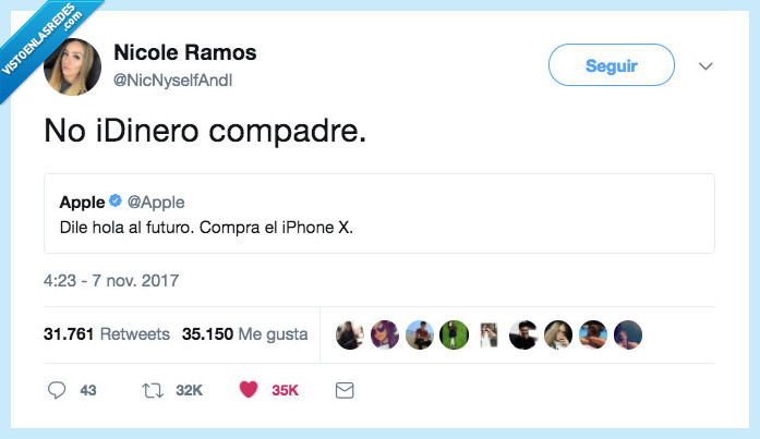 iphone x,reacción,sol
