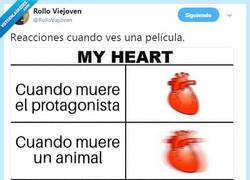 Enlace a Nunca fue el corazón tan rápido, por@RolloViejoven