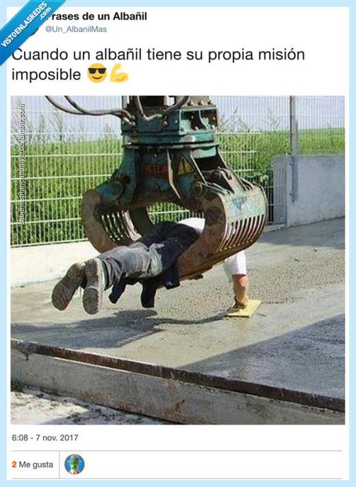 albañil,imposible,misión