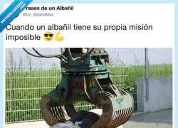Enlace a MISIÓN IMPOSIBLE: Enlucir el suelo sin pisar, por @Un_albanilmas