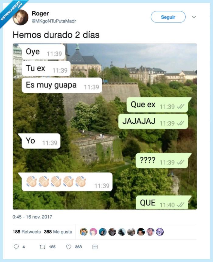 #Twitter #amor #cortar #romper #humor #novia #exnovia #ex
