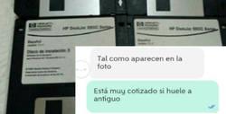 Enlace a Le pillen una burrada por unos disquetes y se ríe en su cara del vendedor, por @Jarkancio