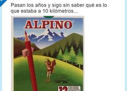 Enlace a La caja de Alpino esconde un misterio y la respuesta tiene todo el sentido del mundo
