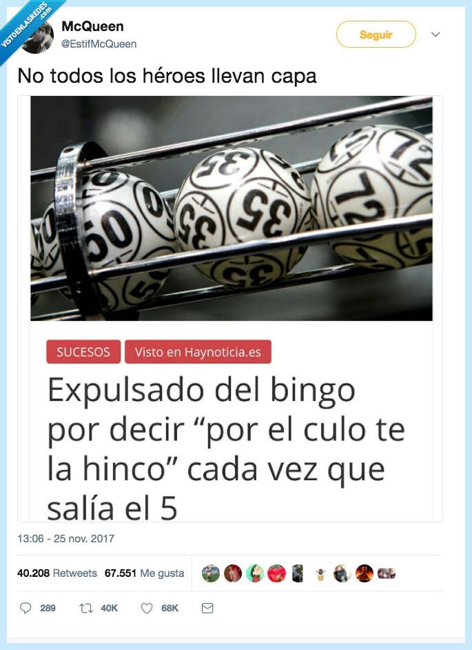 bingo,bola,héroes