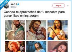 Enlace a Jesus también era un posturillas, por @9000x