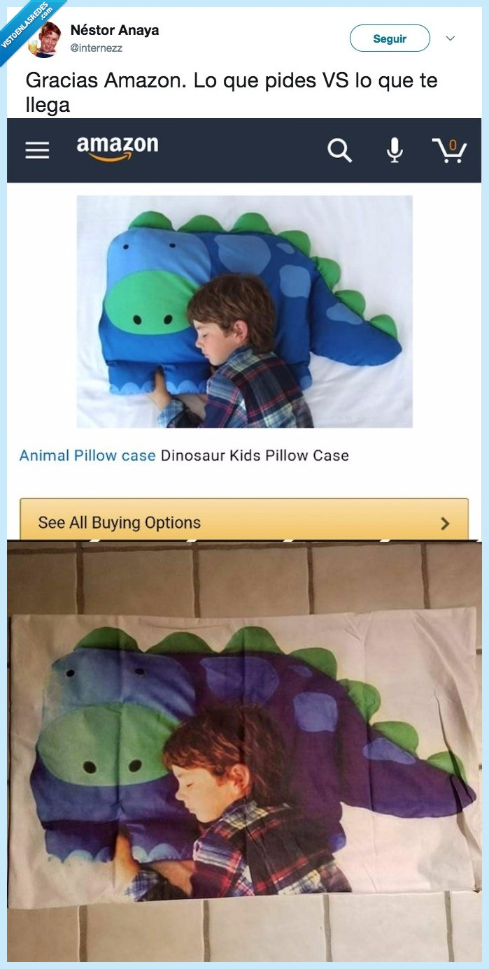 amazon,peluche dinosaurio