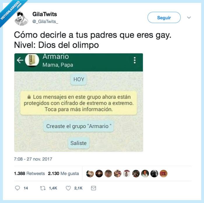 decir,gay,padres