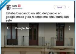 Enlace a Te pones a buscar por Google Maps y de repente... por @buterasroad