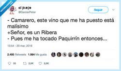 Enlace a El Paquirrín de los vinos, por @GarcierPeter