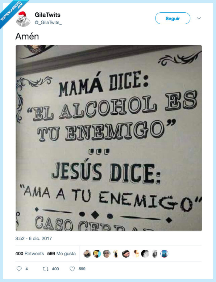 alcohol,amar,enemigo,madre