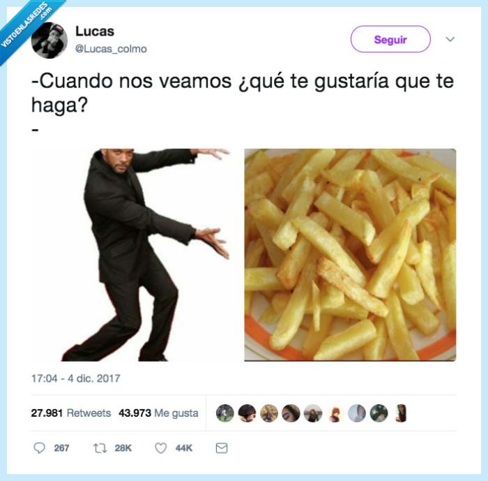 hacer,patatas