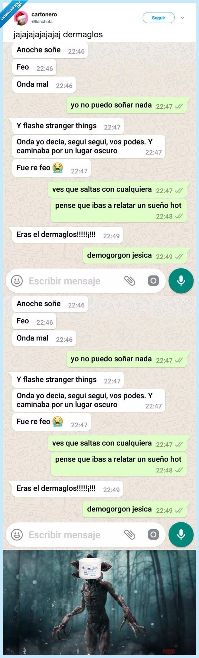 strangers,things ver