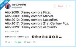 Enlace a Disney dominará el mundo, por @Iriagparente
