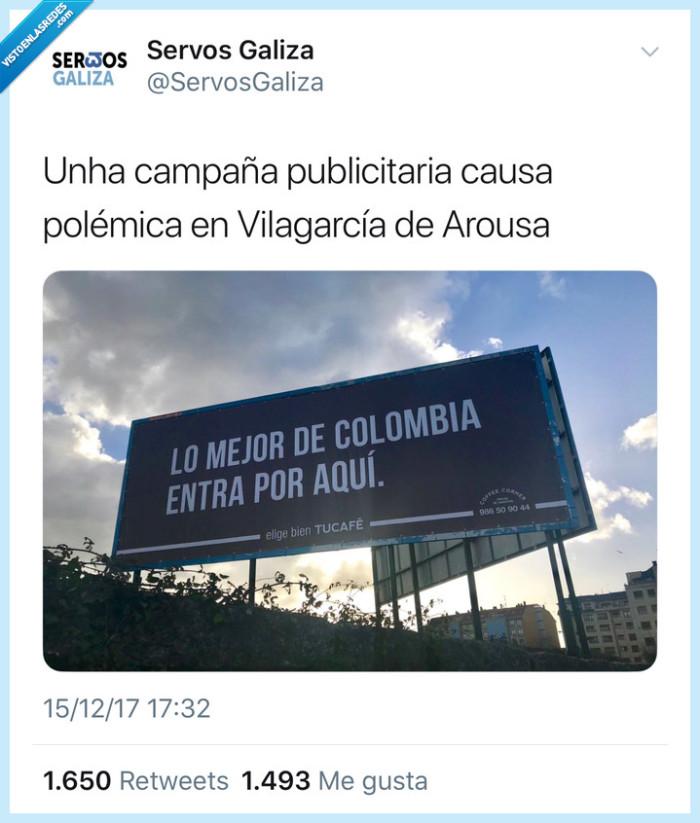 cafe,galicia,humor,Narcos,publicidad,twitter