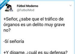 Enlace a Solo buscaba otro corazón, por @FutbolMod