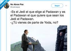 Enlace a M.Rajoy es yoda, por @noabraspaz