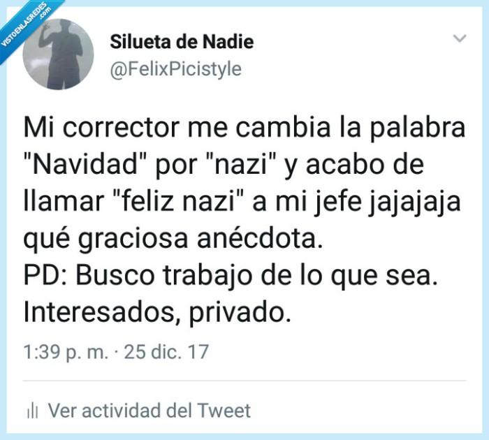 humor,jefe,Navidad,Nazi