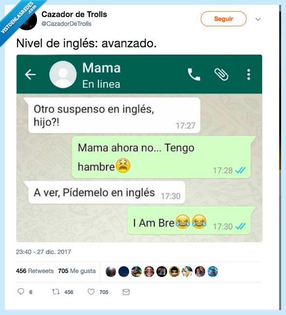 hambre,inglés,madre