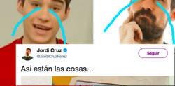 Enlace a Jordi Cruz (el bueno, el de Art Attack) vuelve a ser víctima de trolleo y esta vez ha sido su padre
