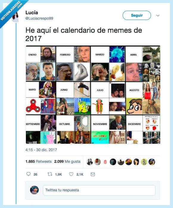 2017,calendario,memes