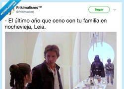 Enlace a Han Solo está harto de su cuñado, por @Frikimalismo