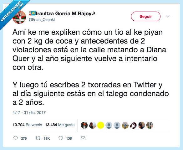 española,justicia,lógica