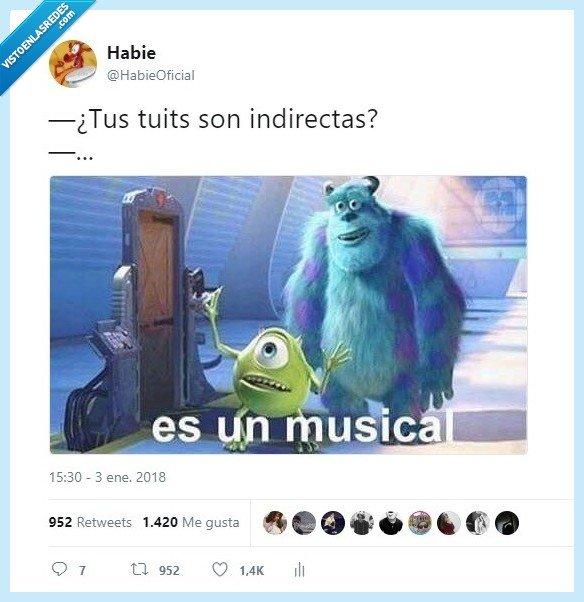 indirectas,mis,son,tuits
