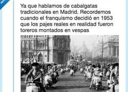 Enlace a Las cabalgatas de Reyes con Franco eran muy surrealistas, por @Gago1F