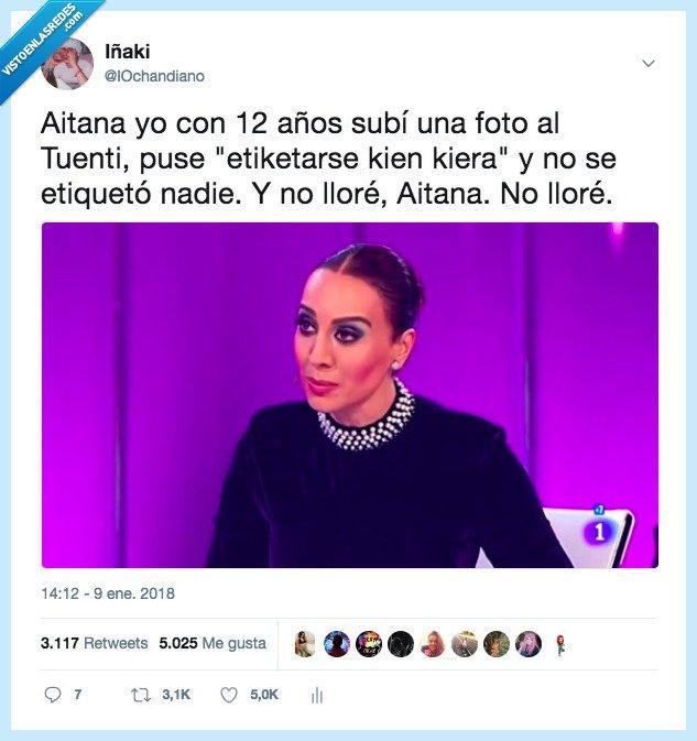 Aitana,Mónica Naranjo,no lloré,operación triunfo,OT2017